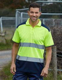 Hi-Vis Two-Tone Polo